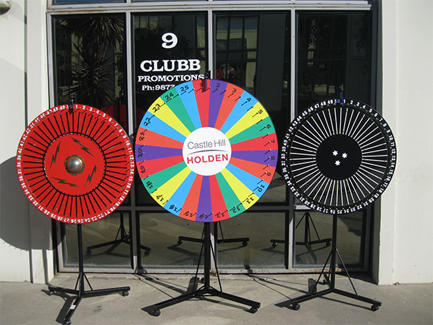Promotional Spinning Wheels